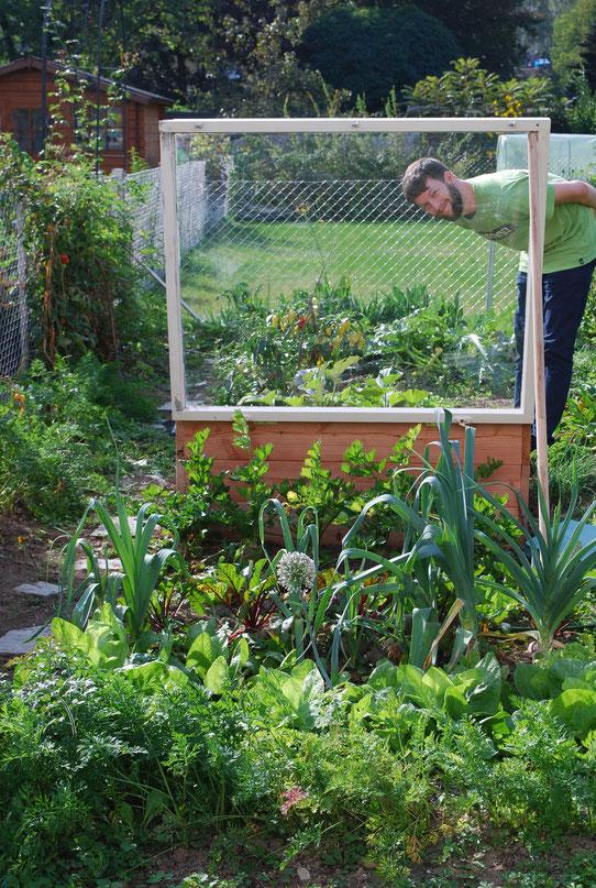 lerning by doing - unser Garten 2017