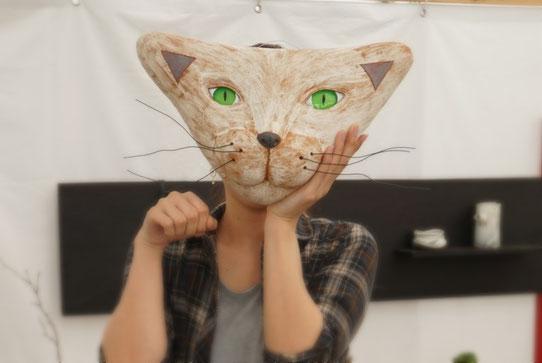 仲本律子 陶芸作家 ブログ 女性陶芸家 茨城県笠間市  陶炎祭 猫 猫土面