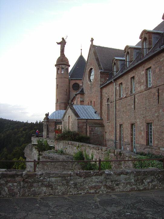 St. Odile -  Klosteranlage