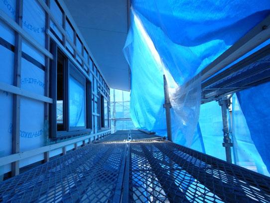 ベーカリーショップ クロリ・BREAD&LIFE 店舗併用住宅 松本市 新築工事 長野県松本市の建築家 建築設計事務所 現場監理