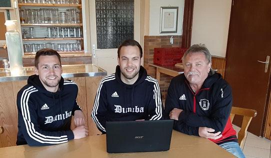 Andi Böhm interviewt Franz Strauß und Thomas Freiberger