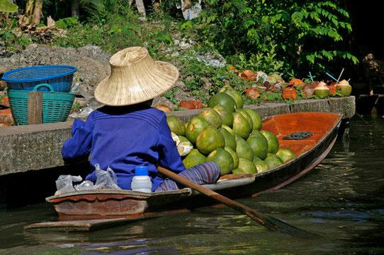 Floating Market - Thaïlande