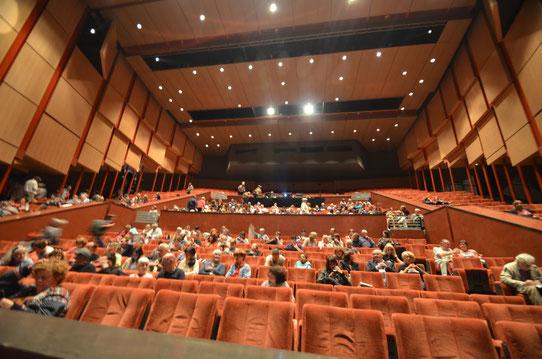 Salle de projection au Festival des Globe-Trotters d'ABM 2013 !