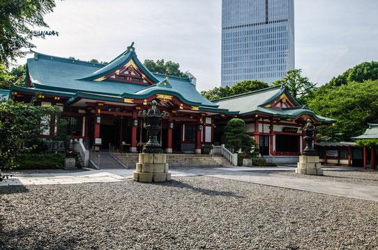 Temple Heidjinja, Tokyo, Japon