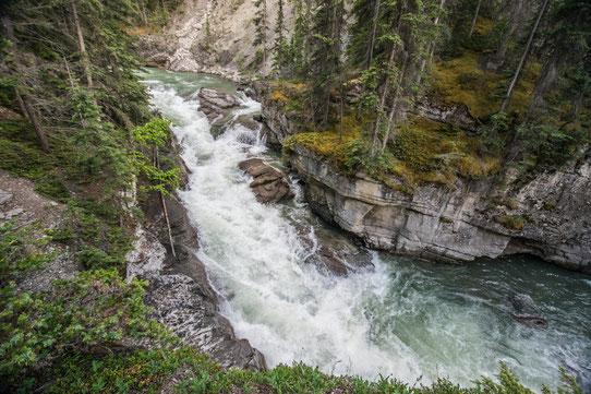 Malign Canyon, Jasper, Canada - CopyRight Trip85.com