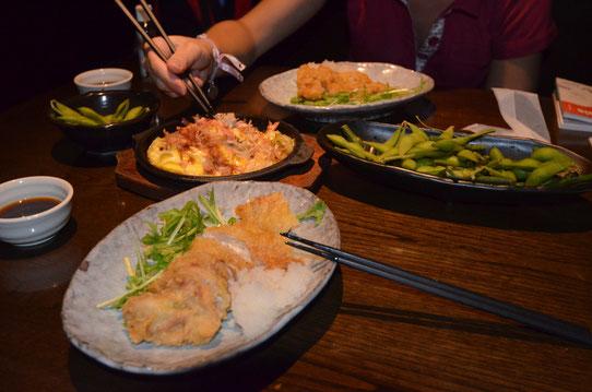 Premier repas à Tokyo !