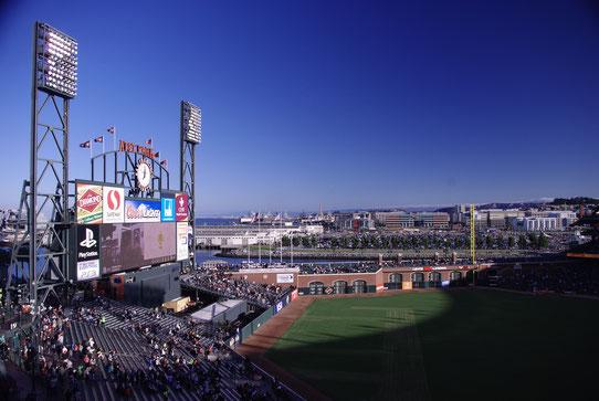 Match de Baseball à San Francisco !