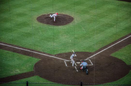 Match de Baseball à Hiroshima, Japon