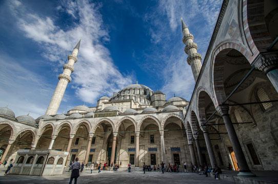 La Mosquée de Soliman, Istanbul