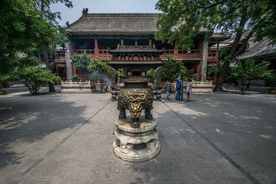 Les temples de l'ouest de Pékin