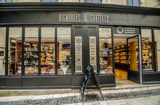 """Boutique """"Vignobles & Châteaux"""" à Saint-Emilion"""