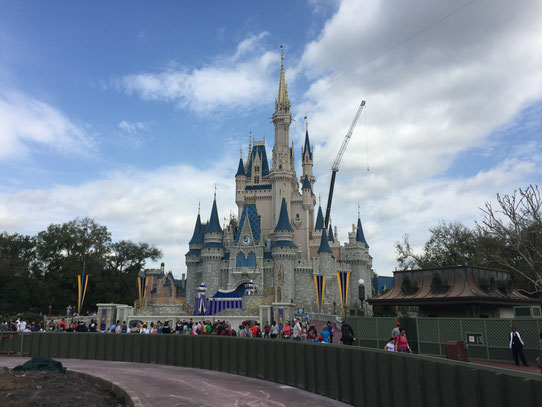 Le château de Disney World !