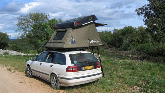 La tente de toit La Hussarde
