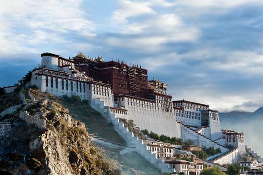 Le mythique palais du Potala à Lhassa au Tibet !