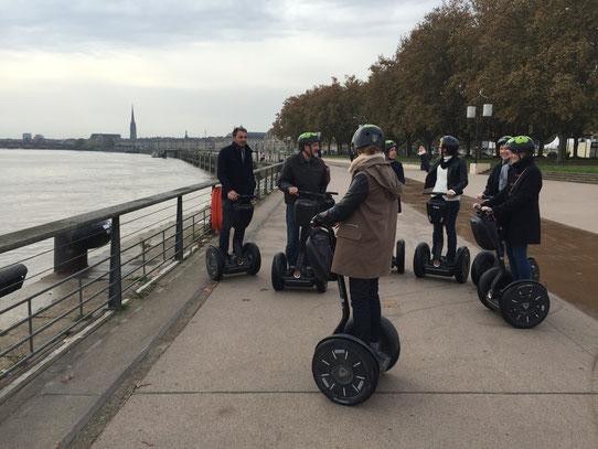 Premiers tours de roues en Segway à Bordeaux !