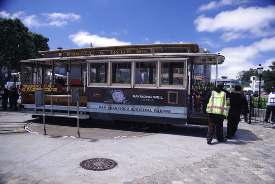 Le Tramway de San Francisco