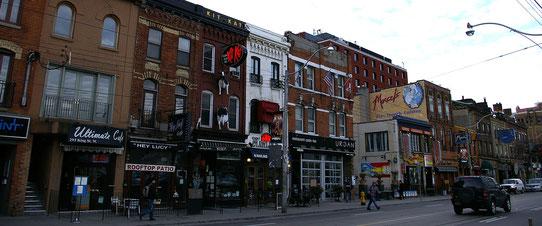 Quartier du divertissement à Toronto