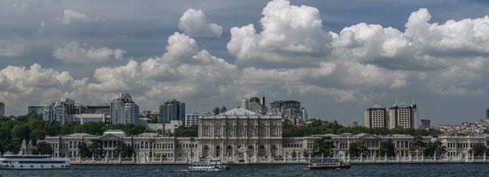 Vue sur Istanbul depuis le Bosphore