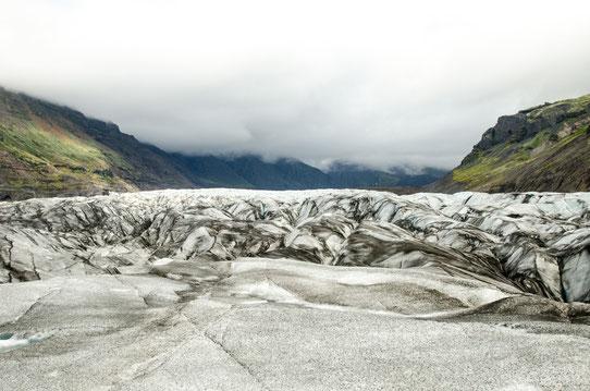 Le glacier Vatnajokull, Islande