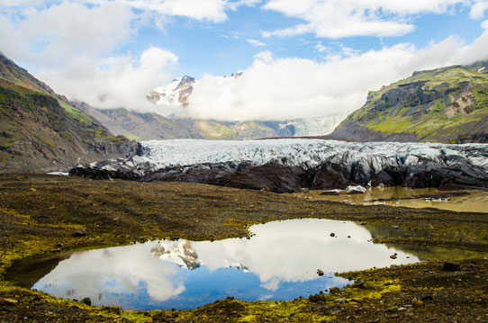 Le Glacier de Vatnajokull ! Le plus grand d'Europe ! Crédit Photo : Trip85.com