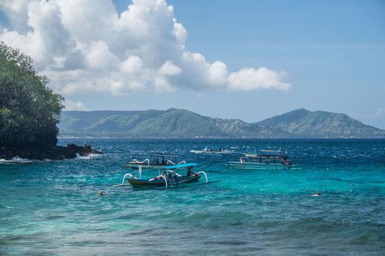 Plongée au Blue Lagoon à Bali !