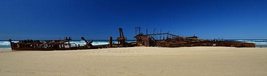 Epave sur Fraser Island, Australie