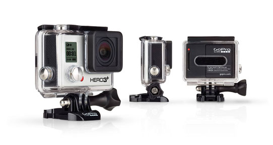 Go Pro Hero 3+ / Source : http://fr.gopro.com/cameras/hd-hero3-black-edition