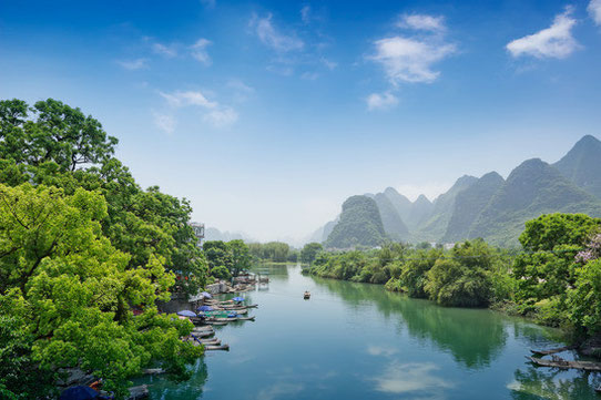 Les paysages magnifiques de Guilin et sa région !