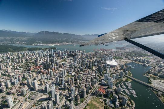Guide Vancouver - à faire à Vancouver - Survol en hydravion de Vancouver