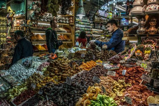 Dans le bazar Egyptien
