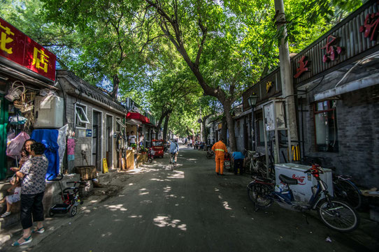 Les hutongs de Pékin