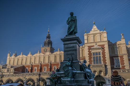 La halle aux draps, Cracovie