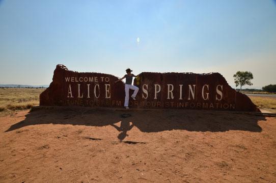 A Alice Springs en Australie !