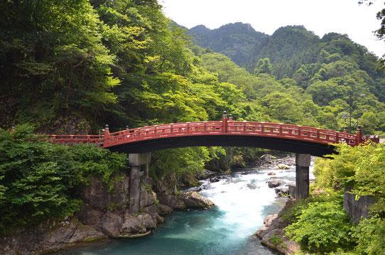 Pont à Nikko, Japon