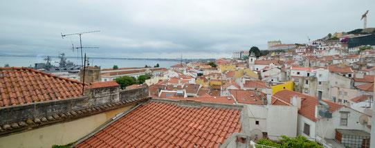 Mirador de Santo Estêvão, Lisbonne