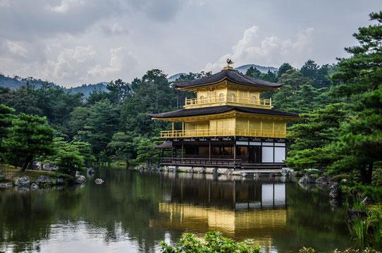 Le Pavillion d'Or, Kyoto, Japon