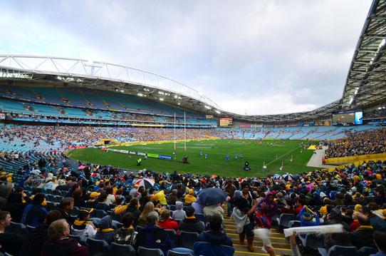 Match de Rugby Australie VS Samoa