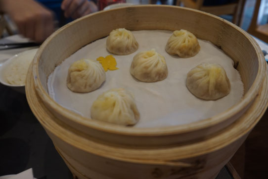 Dim Sum de la célèbre chaîne Din Tai Fung