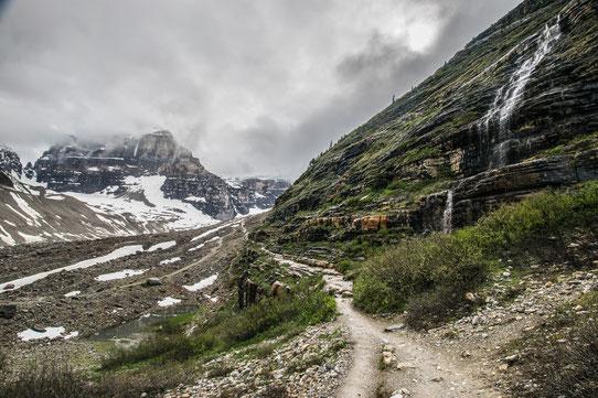 Vers la plaine des 6 glaciers - Trip85.com