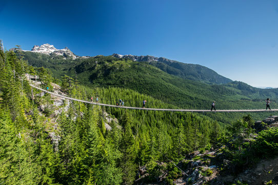 Pont Suspendu à la Sea-to-Sky Gondola, Squamish