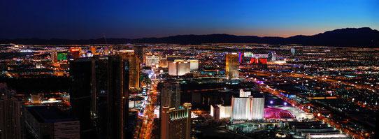 Survoler Las Vegas de nuit en hélicoptère