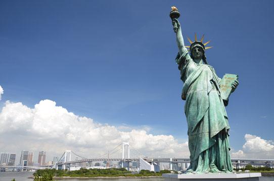 Quartier Odaiba, Tokyo - Statue de la liberté