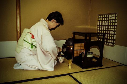La cérémonie du thé à l'Imperial Hotel de Tokyo