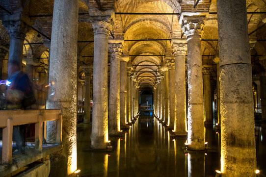 La Citerne Basilique, Istanbul