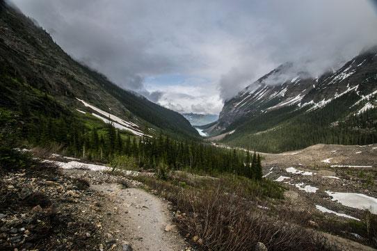 En redescendant de la Plaine des 6 glaciers - CopyRight - Trip85.com
