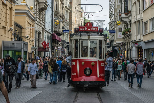 Le tramway à Istanbul !