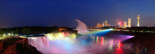 Source : Niagara Falls Panorama - Photodune
