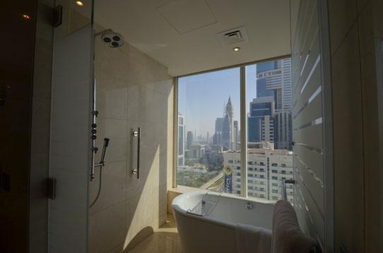 Vue sur Dubai