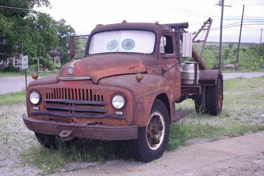 Une voiture devenue légendaire grâce au film Cars! Route 66!