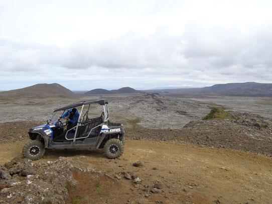 Buggy Tour dans les champs de lave du sud de l'Islande